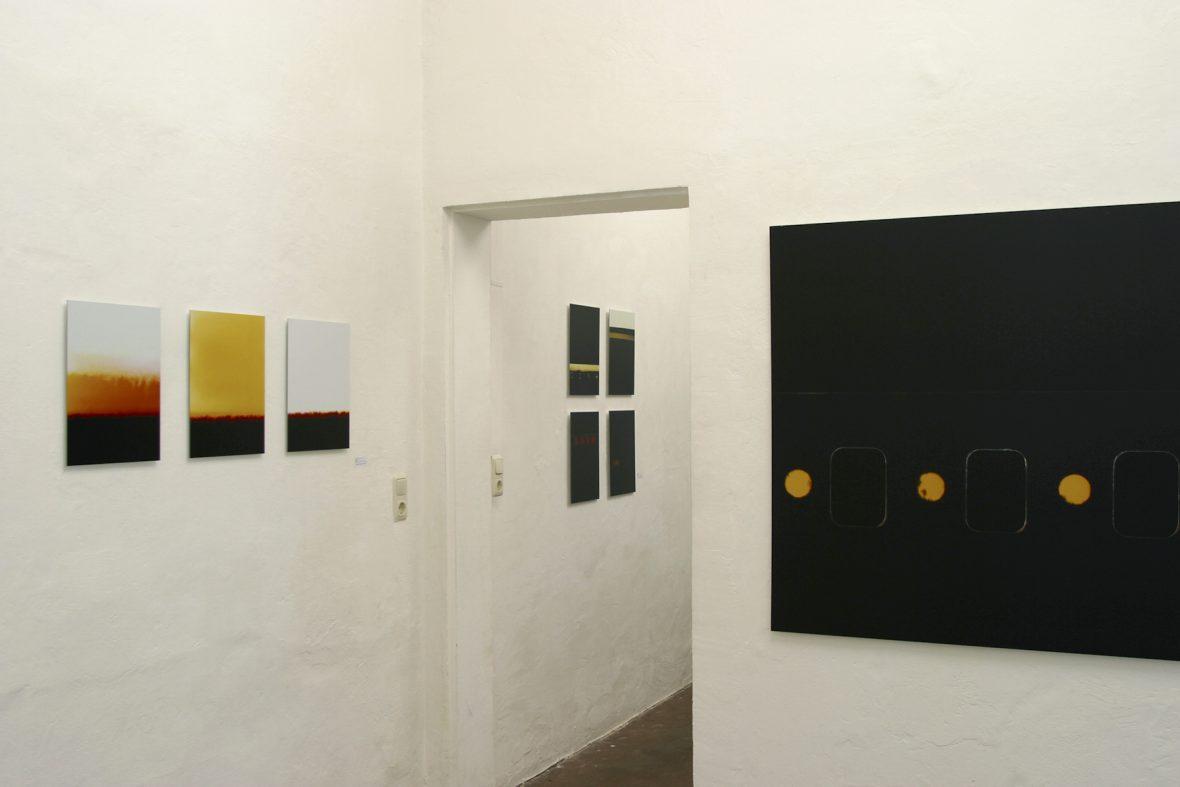 Ränder|Rauschen, 2003, Galerie Jarmuschek, Berlin